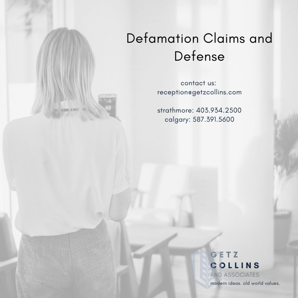Calgary and Strathmore Civil Litigation Lawyers Discuss Defamation